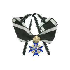 WWII German WWI Imperial German Blue Max Medal With Oakleave