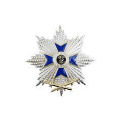 WWII German 2nd Bavarian war merit cross with star and swords