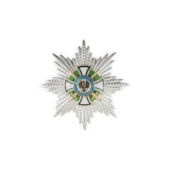 WWII German Hausorden von Hohenzollern of commander