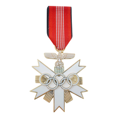 WWII German German olympic games decoration 2nd class