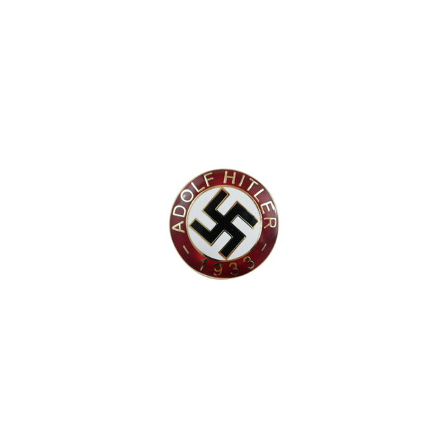 WWII German Adolf Hitler 1933 badge