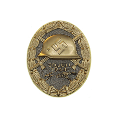 WWII German 20th July 1944 Wound Badge gold
