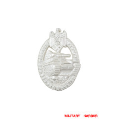 Panzer Assault Badge in Silver