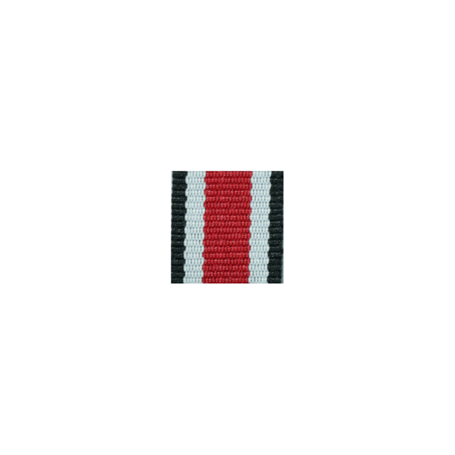 WWII German 1939 iron cross 2nd class ribbon bar's ribbon