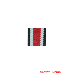 WWII German 1939 iron cross 2nd class ribbon bar's ribbon