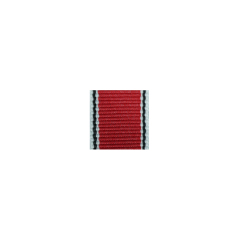 WWII German Cross 5th grade (Merit 3rd class) Medal of Merit in silver ribbon bar's ribbon