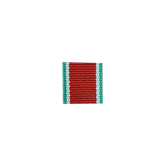 WWII German Hungary Order of Merit Knights Cross ribbon bar's ribbon