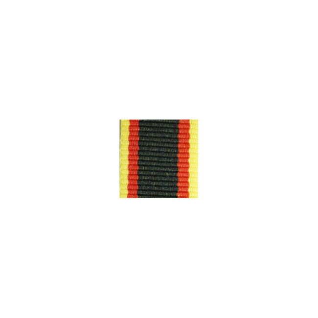 WWII German Waldeck Long service award ribbon bar's ribbon