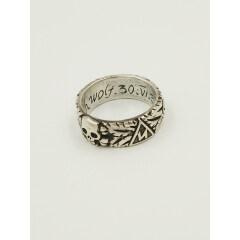 WWII German German SS Totenkopf Ring