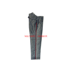 WWI German Empire M1915 Red Pipped  stone grey Wool Trousers