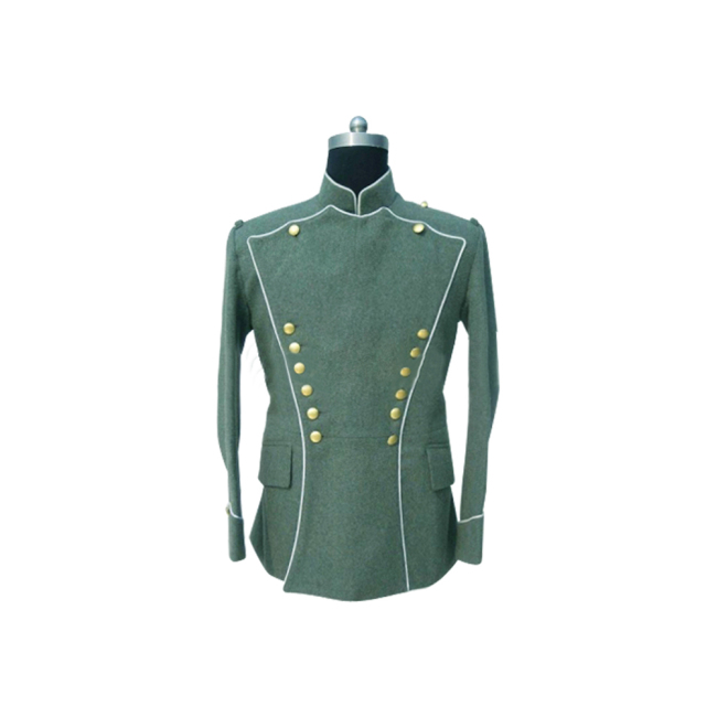 WWI German Empire Officer wool Uhlan White Pipped tunic ULANKA