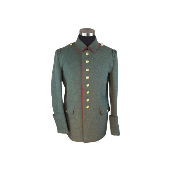 M1907/M1914 field grey wool tunic