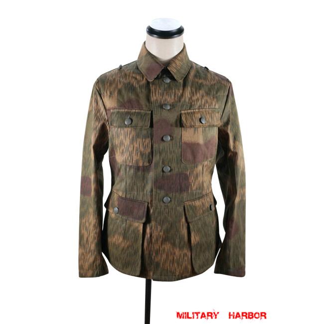 WWII German Heer Tan and water camo M43 field tunic