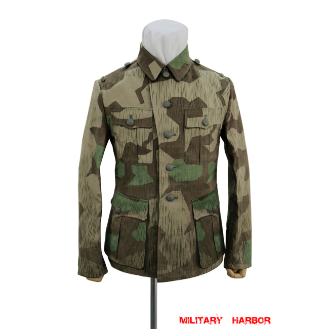 WWII German Heer Splinter 31 Spring Camo M40 field tunic