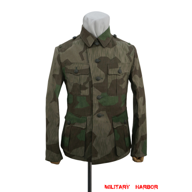 WWII German Heer Splinter 31 Fall Camo M40 field tunic