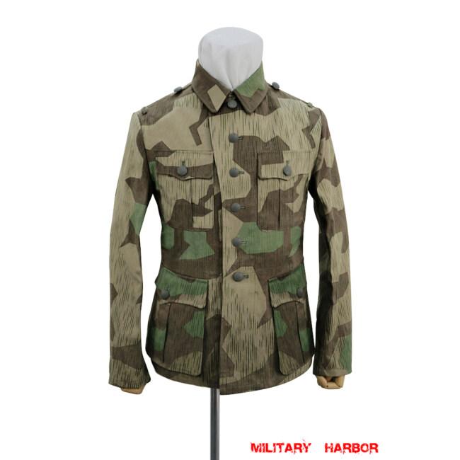WWII German Heer Splinter 31 Spring Camo M41 field tunic