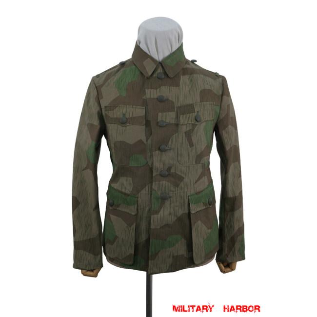WWII German Heer Splinter 31 Fall Camo M42 field tunic