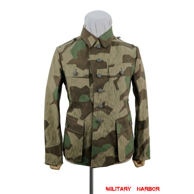 WWII German Heer Splinter 31 Spring Camo M43 field tunic
