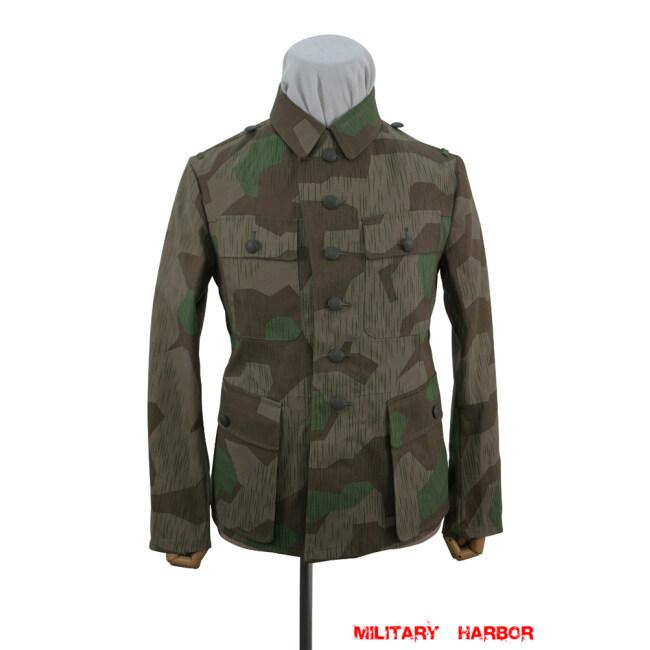 WWII German Heer Splinter 31 Fall Camo M43 field tunic
