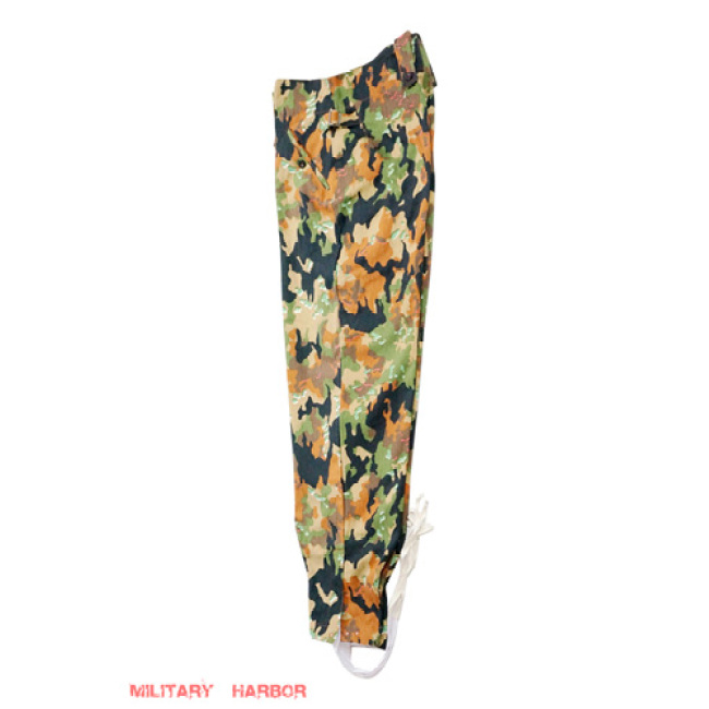 WWII German SS leibermuster 45 camo M43 field trousers