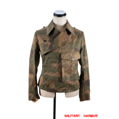 WWII German Heer Tan and water camo panzer wrap/jacket