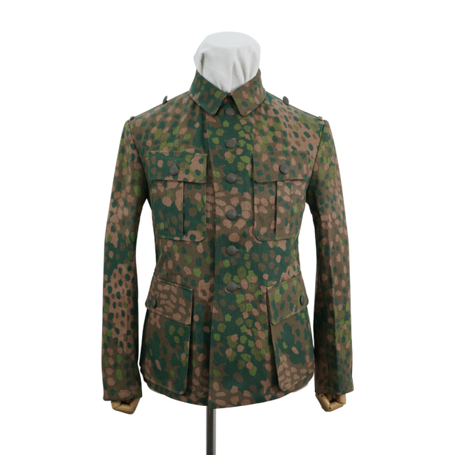 WWII German Police Division Dot camo field tunic