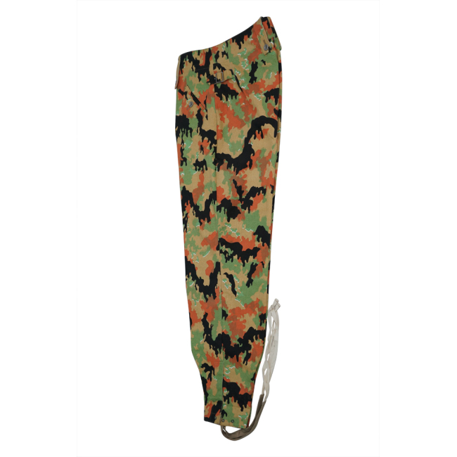 WWII German SS leibermuster camo M43 field trousers