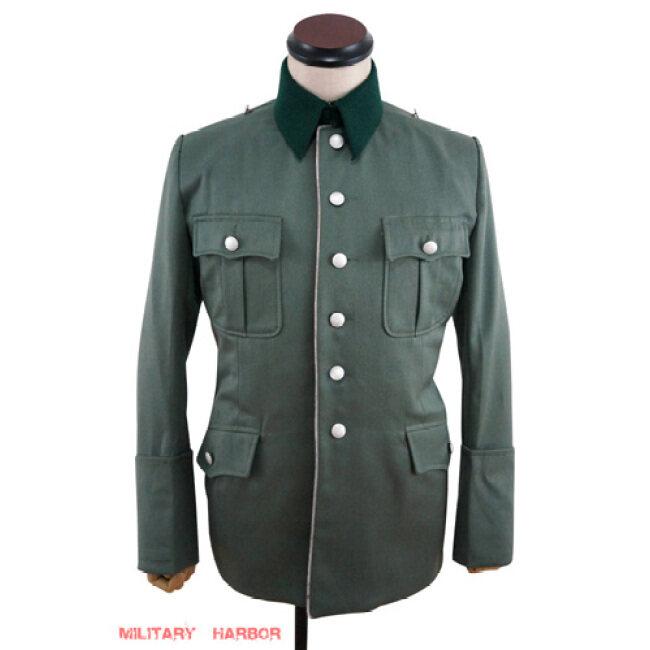 WWII German Heer M28 M29 officer Gabardine jacket dress tunic