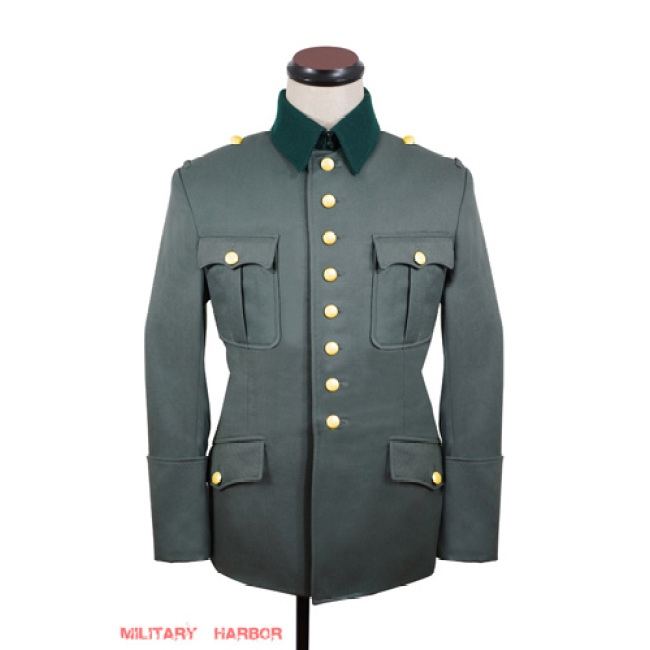 WWII German Heer M27 General gabardine Jacket dress tunic I