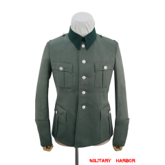 WWII German Heer M36 general officer Gabardine service tunic Jacket