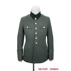 WWII German Heer M28 General Officer Gabardine service tunic jacket I