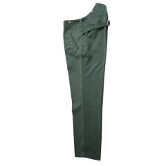 WWII German Heer service Gabardine straight trousers