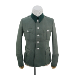 WWII German SS M36 officer Gabardine service tunic Jacket