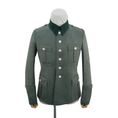 WWII German SS M41 officer Gabardine service tunic Jacket