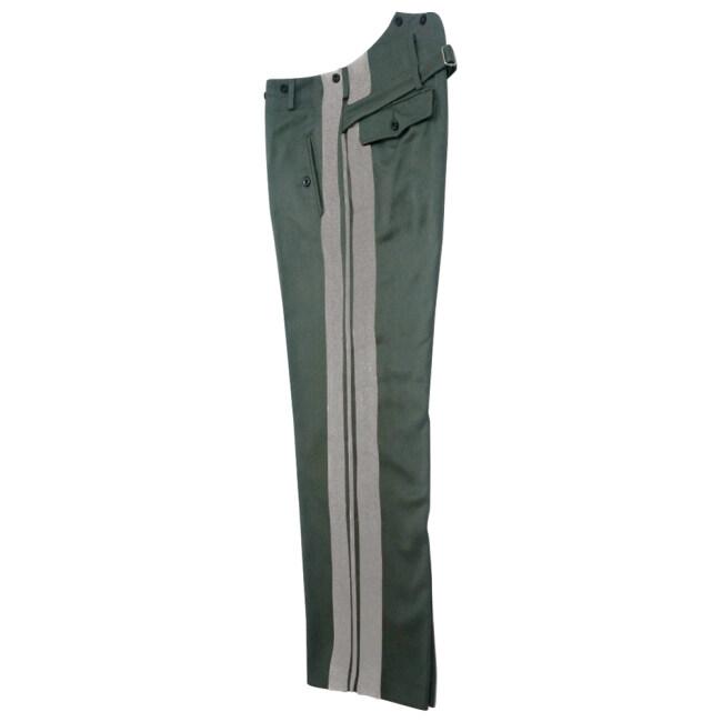 WWII German SS general Field grey Gabardine straight trousers