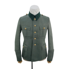 WWII German Kriegsmarine coastal M36 officer Gabardine service tunic Jacket