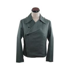 WWII German Heer assault gunner gabardine wrap jacket