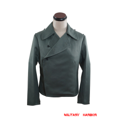 WWII German Heer assault gunner gabardine wrap jacket
