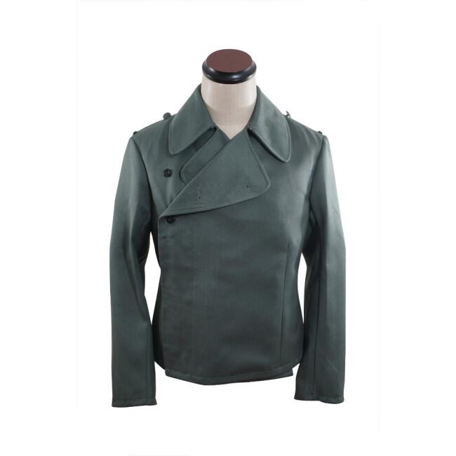 WWII German SS assault gunner Gabardine wrap jacket