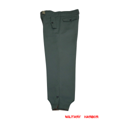 WWII German Heer assault gunner gabardine trousers