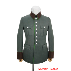 WWII German Ordnungspolizei officer Gabardine waffenrock tunic
