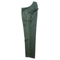 WWII German police officer waffenrock Gabardine dress trousers