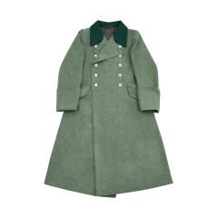 WWII German M36 Heer officer fieldgrey wool Greatcoat