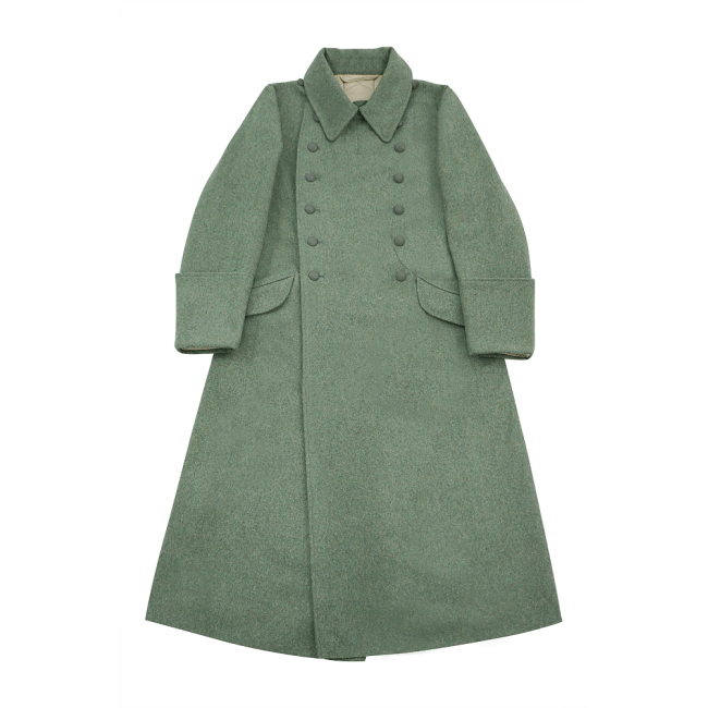 WWII German M40 Heer EM fieldgrey wool Greatcoat