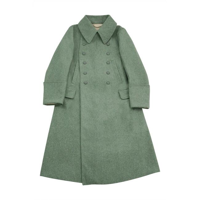 WWII German M42 Heer EM fieldgrey wool Guardcoat