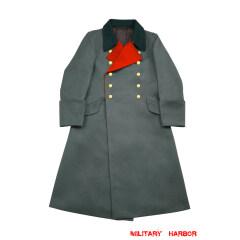 WWII German M36 Heer General Gabardine Greatcoat