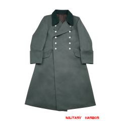 WWII German M36 Heer Officer Gabardine Greatcoat