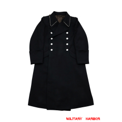 WWII German M32 Allgemeine SS Officer Wool Greatcoat