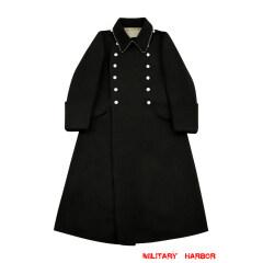 WWII German M32 Allgemeine SS NCO Wool Greatcoat