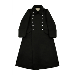 WWII German M32 Allgemeine SS EM Wool Greatcoat